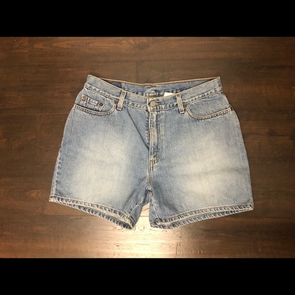 Levi's Pants - Vintage Levi's Light Blue Boyfriend Fit Jean Short